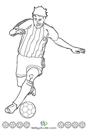 Ausmalbilder Fussball Trikot