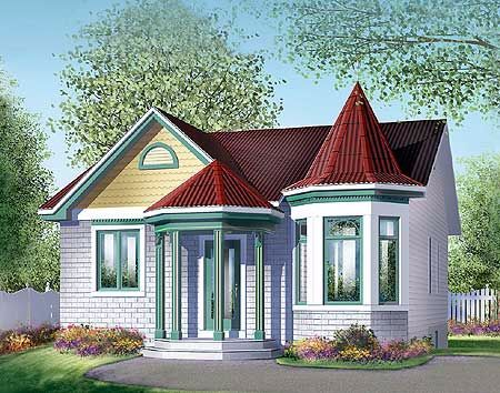 6 Amazing Floor Plans For Tiny Victorian Homes Victorian House Plans Victorian Homes Building Plans House