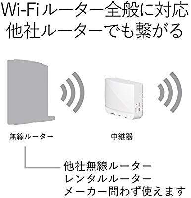Amazon Co Jp エレコム Wifi 無線lan 中継器 11n G B 300mbps コンセント直挿し Wtc 300hwh パソコン 周辺機器 コンセント エレコム 家
