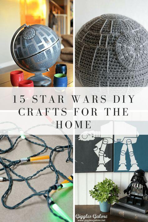 15 Star Wars Crafts For Your Home Frugal Living Pinterest Star
