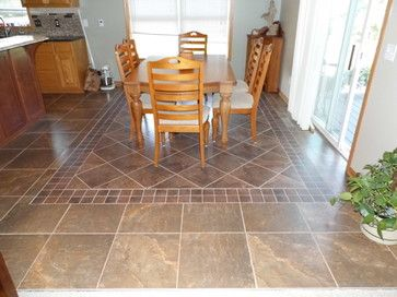 Living Room Floor Tile Design Ideas | Dining Room With Classic Stone  Flooring Listed In: White Dining Room ... | Floor Ideaa | Pinterest |  Living Room ...