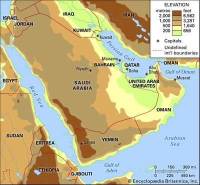 Arabia | Recovering Wisdom | Middle east map, Middle east, Arabian
