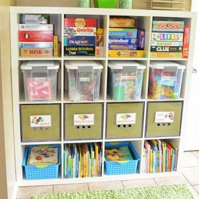 6 Tips to Organize a Kids Craft Space via TipJunkie.com