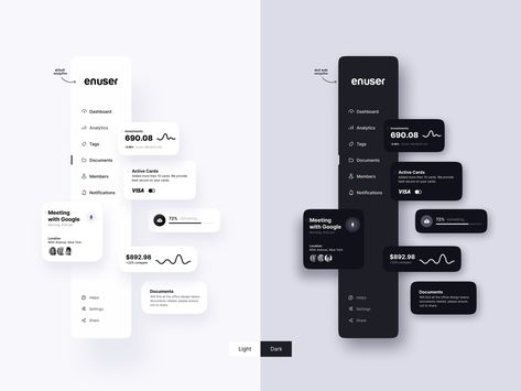UI kit - Mobile and Desktop