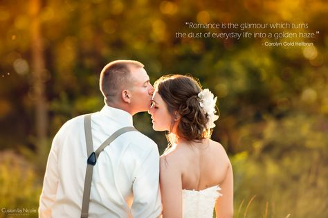 Romantic Quote Bride And Groom At Sunset Ny Wedding