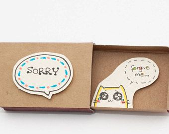Entschuldigung für freund geschenk