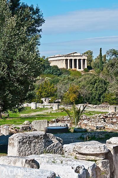 Visiting The Ancient Agora In Athens Greece Athens Greece