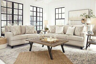Ashley Furniture Claredon Sofa And Loveseat Living Room Set Ebay Loveseat Living Room Furniture Living Room Sets