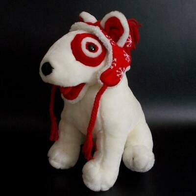 Target Bullseye Dog Plush The Inn Thing Holiday Stuffed Animal