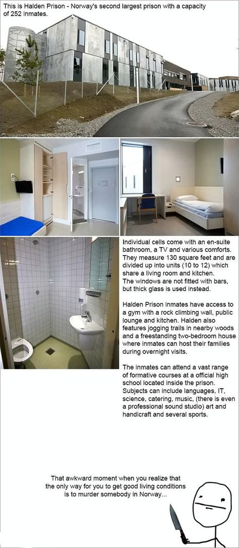 Even Inmates In Norway Live Better Than Me