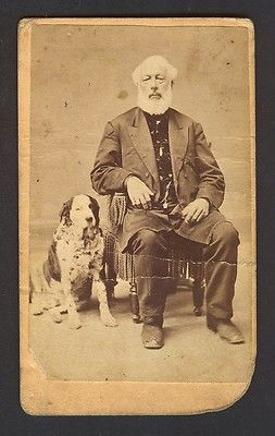 Details About 1860s Cdv Bearded Man Holding Baby Id D George