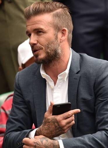 David Beckham Style Beckham Hair Beckham Haircut David Beckham Style