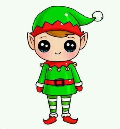 Image result for image of a little cartoon elf