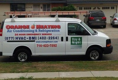 Orange Heating Air Conditioning And Refrigeration Heating And