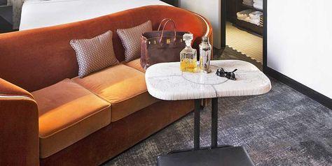Table En Ceramique Raku Par Kaolin Creations Pour L Hotel Des Bains Douches A Paris Meuble Mobilier