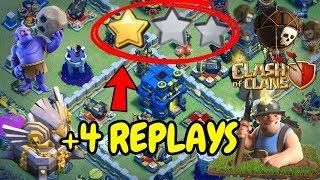 UNDEFEATABLE Th12 War Base 2018 Anti 2 Star With 4 Replays