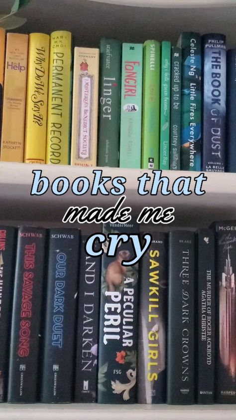 books that will make you cry