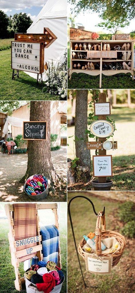 Trending Outdoor Wedding Ideas 2019 Hochzeitsdeko Aus Holz