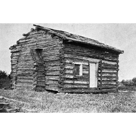 Lincolns Birthplace Nthe Log Cabin Birthplace Of Abraham Lincoln 1809 1865 16th President Of The United States In Hodgenville Log Cabin Furniture Cabin House Styles