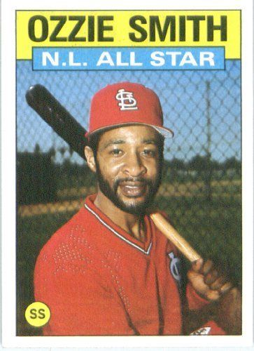 1986 Topps 704 Ozzie Smith As St Louis Cardinals Baseball Card Http Www Amazon Com Dp B000wfl4da Ref Cm Sw R Baseball Cards Baseball Cardinals Baseball