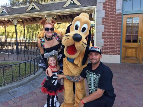 Skeleton costumes at Mickeyu0027s Halloween Party in Disneyland. | Disneyland Attire | Pinterest  sc 1 st  Pinterest & Skeleton costumes at Mickeyu0027s Halloween Party in Disneyland ...