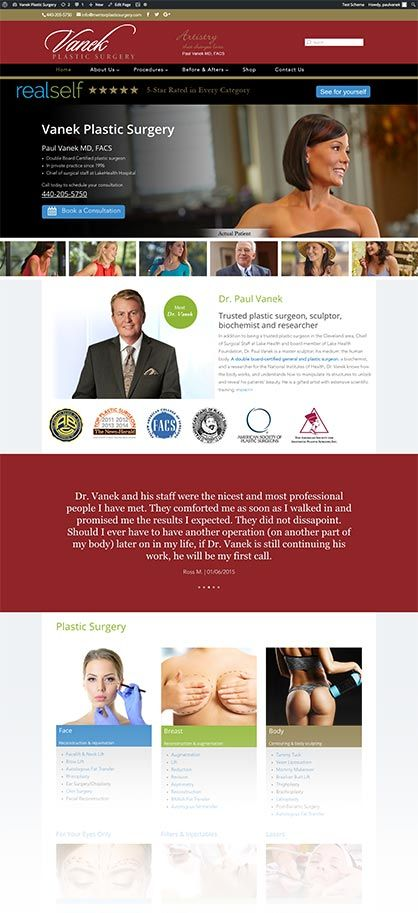 Plastic Surgery online marketing, lead generation - Cleveland Hts, OH
