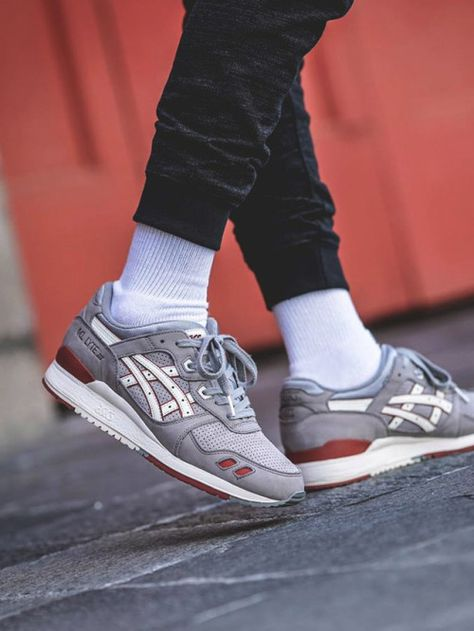 Highs And Lows x Asics Gel Lyte III Bricks and Mortar Pack