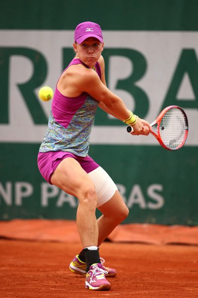 Johanna Larsson Photostream French Open Mattek Sands Photo