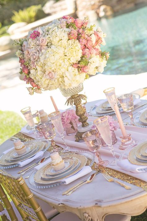 Vintage Glam Princess Party