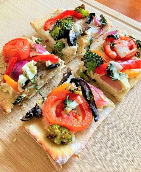 Flatbread Recipe: Roasted Vegetable | The Leaf Nutrisystem