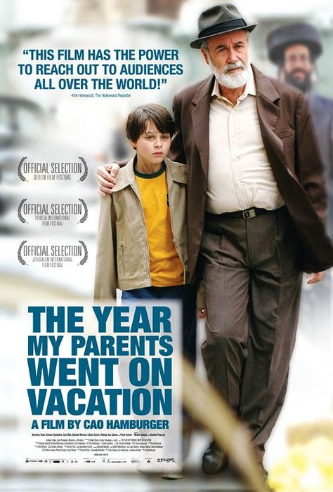 The Year My Parents Went on Vacation Movie Poster (#2 of 3)
