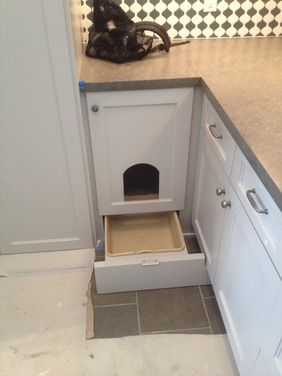In The Basement Laundry Room Awesome Ways To Hide A Cat Litter Box.