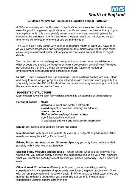 Cool Cv Template For Bursary Application Collection Cv Template