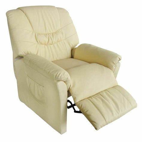 Relax Fauteuil Creme.Vidaxl Fauteuil Massant Relaxation Electrique De Massage