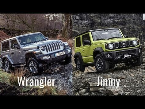 2019 Suzuki Jimny Vs Jeep Wrangler Sahara 2 Door Youtube