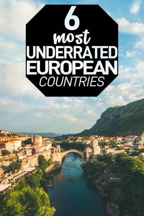 If you want some travel ideas you should check out these 6 underrated Europe destinations. There's no reason for us to go to the same old countries time and time again when there are so many underrated places to see!