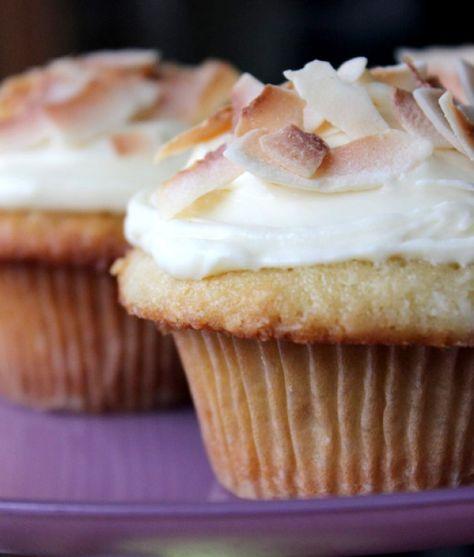 Coconut Cupcakes | Theo Chocolate
