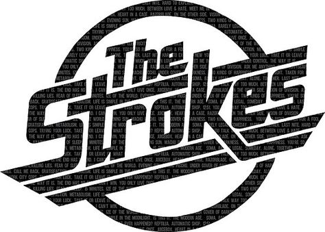 The Strokes artwork: purchase stickers, prints, tshirts