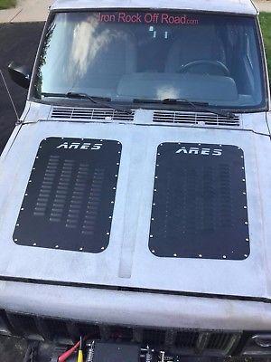 Jeep Xj Mj Cherokee Comanche Aluminum Hood Louvers Jeep Xj Jeep