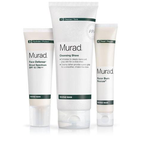 Murad Man Regimen Murad Men S Skin Care Products Cheap Skin Care Products Mens Skin Care Mens Shaving Kit
