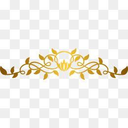 Ribbon Banner Template Arabesco Dourado Png Faixa De Fita