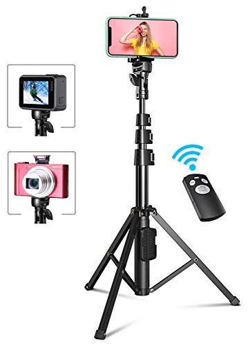Bovon Perche Selfie 133cm Extensible Trépied Smartphone