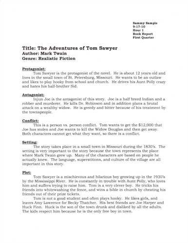 Image Result For Format Of Report Writing For School Kids Book