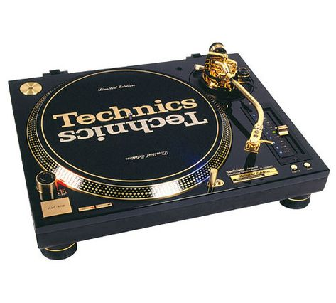 Technics SL-1200 GLD (limited Edition Gold Plated Version)