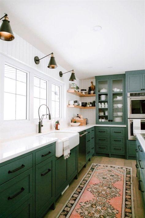 10 Inspiring Non-White KitchensBECKI OWENS #KitchenDesign ...