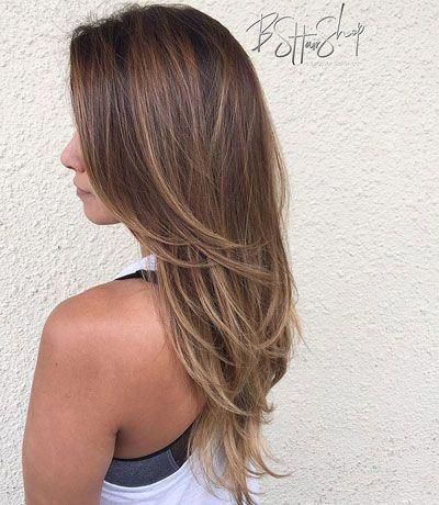 27 Amazing Hairstyles For Long Thin Hair Must See Haircuts For Fine Hair Must See 27 Amazi Coiffure Cheveux Long Coupe De Cheveux Coiffures Permanentes