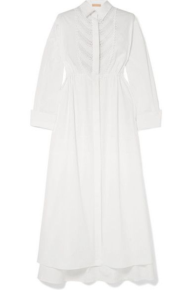 1e1376312eb4 Nicholas - Button-embellished Linen Jumpsuit - White in 2019 ...