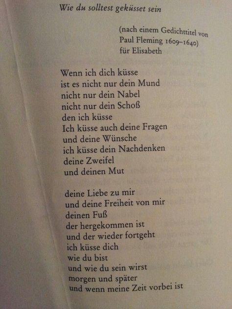 """Wie du solltest geküsst sein"" by Erich Fried...Okay but no this is really swee...,  #Erich #FriedOkay #geküsst #sein #solltest #swee #wie"