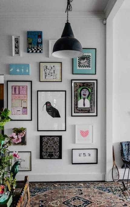 55 Ideas For Wall Collage Layout Living Rooms Frames Wall