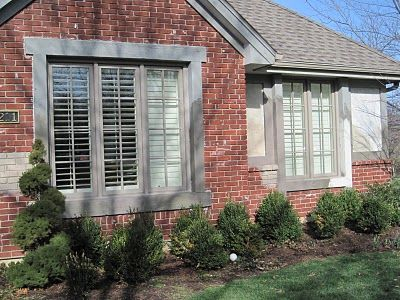 Exterior Window Trim Brick exterior paint color with red brick |  paint colors and decide